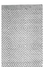 Patterned cotton rug - Grey - Home All | H&M CN 3